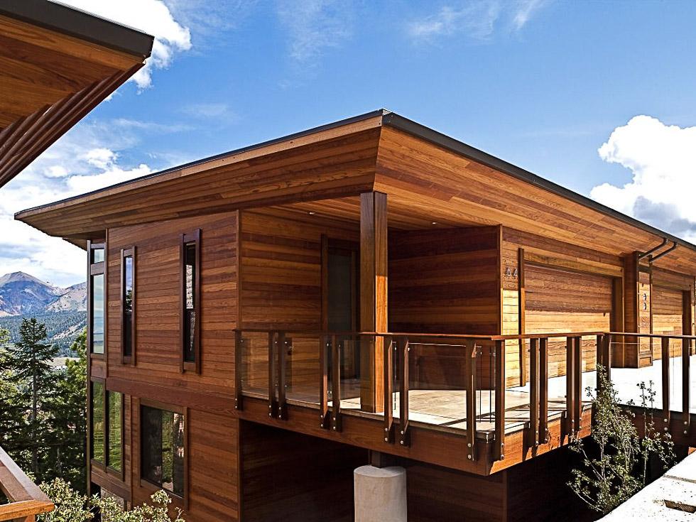 Revestimientos de cedro rojo tejas de madera - Revestir pared con madera ...