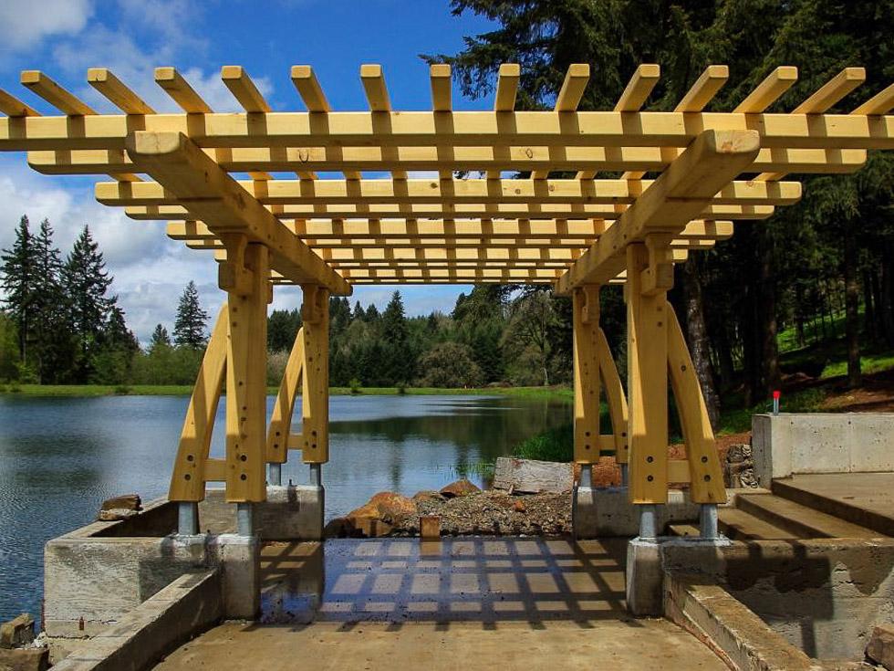 Madera para estructuras construir hacer una cubierta - Estructura tejado madera ...