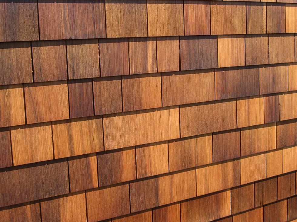 Fachadas de tejas de madera tejas de madera for Ceramica para fachadas exteriores