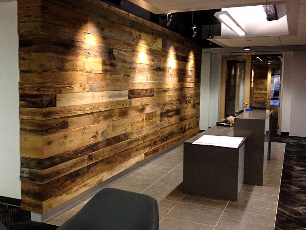 revestimiento madera pared interior materiales de