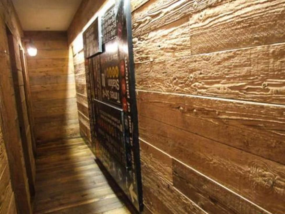 Revestimientos de madera recuperada tejas de madera - Paredes interiores de madera ...